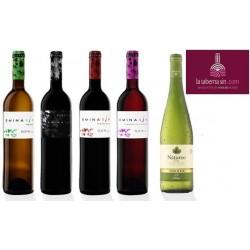 Lote de vinos 0.5º vol. alc.