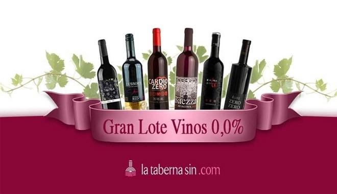 Gran lote de vinos tintos 0,0