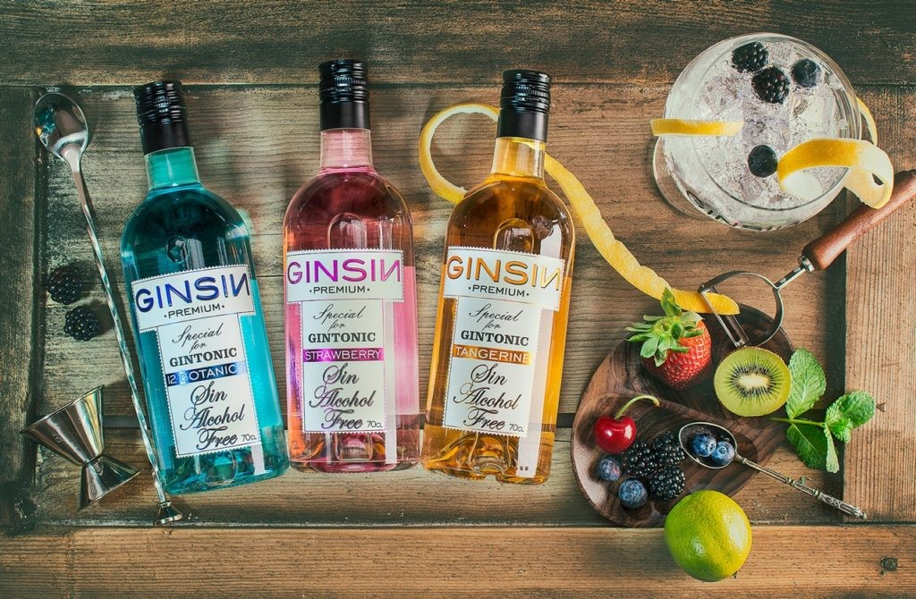 Ginsin Gintonic 0,0 Alcohol.