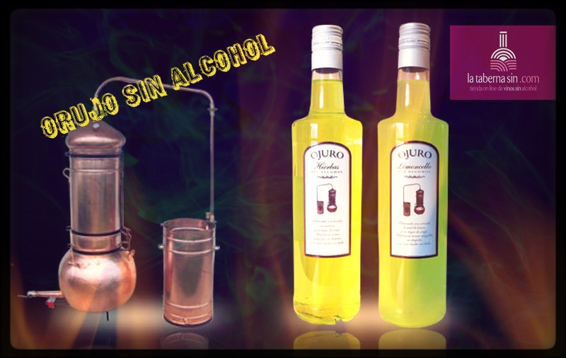 Orujo sin alcohol
