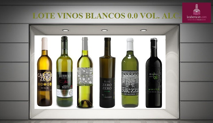 Magnífico lote de vinos Blancos 0.0