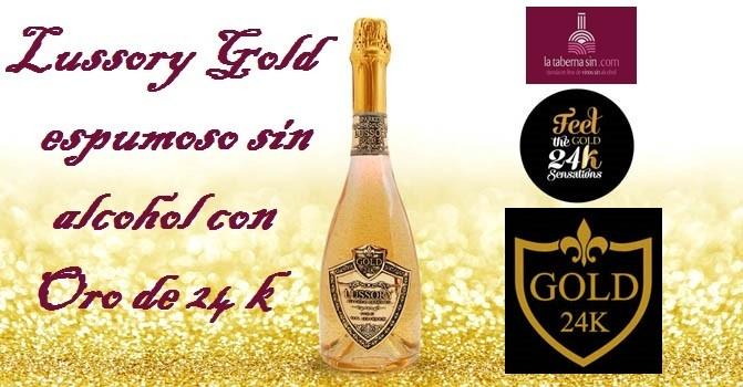 Lussory Gold espumoso con oro de 24k