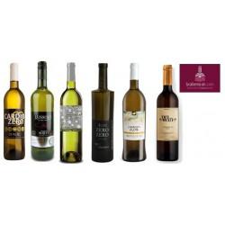 Gran lote de vinos 0.0 alcohol blancos