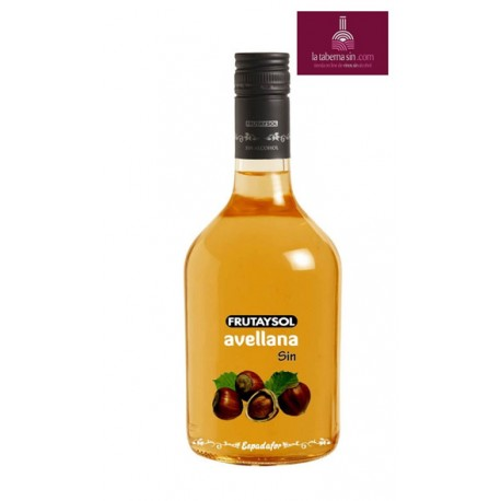Licor de Avellana sin alcohol.