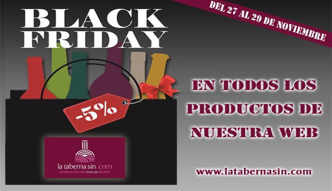 Black Friday en latabernasin.com