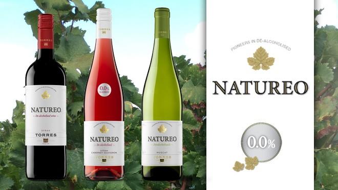Natureo 0,0 Tinto, Blanco y Rosado